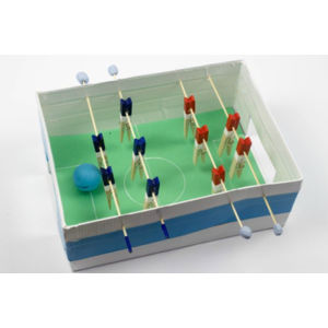 Shoebox foosball table