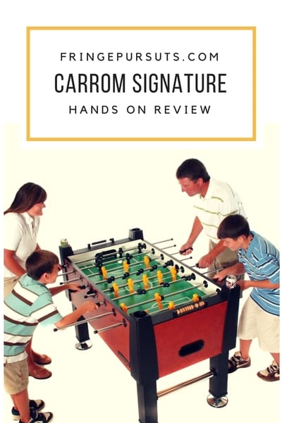 Carrom Signature Foosball Table Review Fringe Pursuits